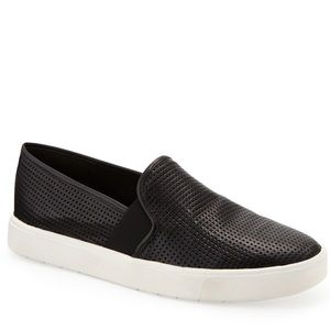 Vince Perforated Leather Sneakers